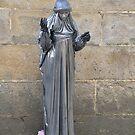 Living statue: Santiago de Compostela, Spain by Stephen Frost