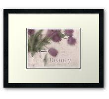 Tulip Pitcher Framed Print