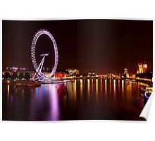 London Eye I Poster