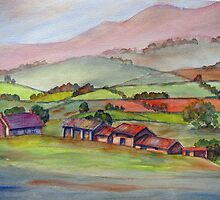 Farm in the Dales by bevmorgan