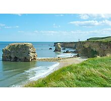 Marsden rock South Shields Photographic Print
