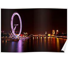 London Eye III Poster