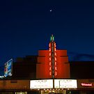 Crescent Moon Over The Garneau by JCBimages