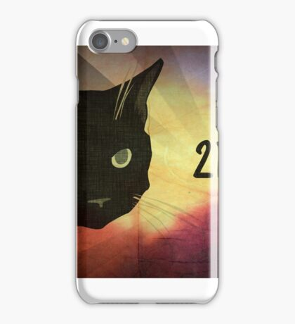 2DCAT Enhanced Look iPhone Case/Skin