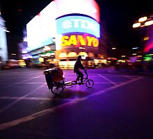 Piccadilly circus rider by remos