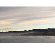Misty New Zealand Hills Photographic Print