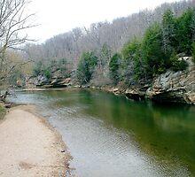 Sugar Creek at Turkey Run State Park 2 by KristaLightning