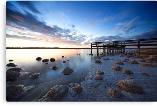 Evening At Lake Clifton by Chris Paddick