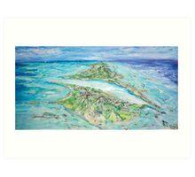 My Secret Island  Art Print
