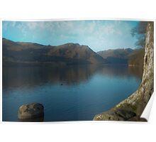 Ulswater  lake Poster