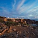 The Old Water Wheel - Cape Leeuwin WA by Chris Paddick