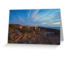 The Old Water Wheel - Cape Leeuwin WA Greeting Card