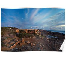The Old Water Wheel - Cape Leeuwin WA Poster