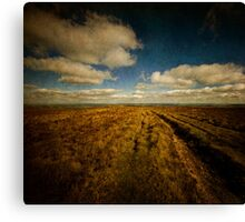 The road to the sky Canvas Print