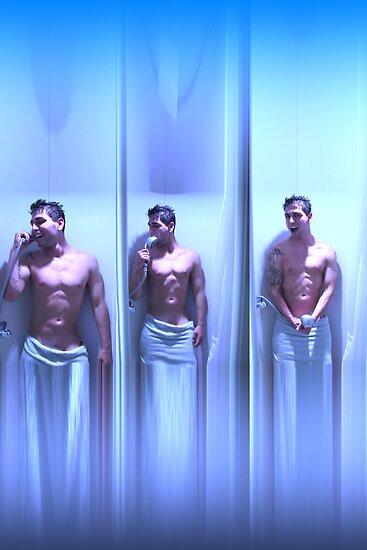 Guy in the shower by Nasko .
