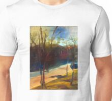 Sugarloaf Creek Broadford (abstract) Vic Australia Unisex T-Shirt