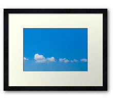 Cloud Nine - Relax Framed Print