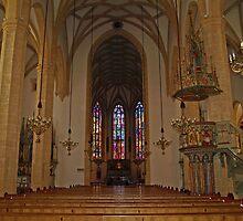 Stadtpfarrkirche by Lee d'Entremont