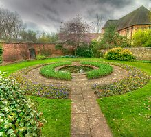 Christ Church Oxford Walled Garden by John Hare