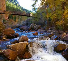 South Boulder Creek in Eldorado Canyon State Park by Klaus Girk