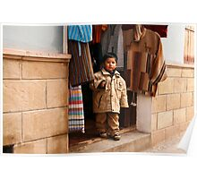 People 4281 Potosi, Bolivia Poster