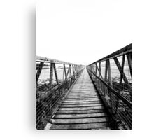 Bridge over still waters Canvas Print