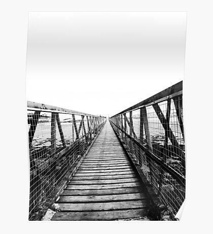 Bridge over still waters Poster