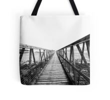 Bridge over still waters Tote Bag