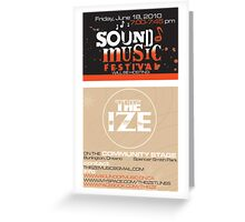 Sound of Music Festival Greeting Card