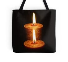 Candle in the dark Tote Bag