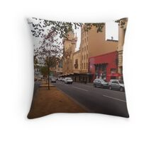 A funny thing happened on the way to the Forum!! Melb. VIC Australia Throw Pillow