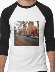 A funny thing happened on the way to the Forum!! Melb. VIC Australia Men's Baseball ¾ T-Shirt