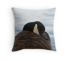 Oh... so... tired...  Throw Pillow