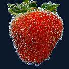 strawberry bubbles.. by Michelle McMahon