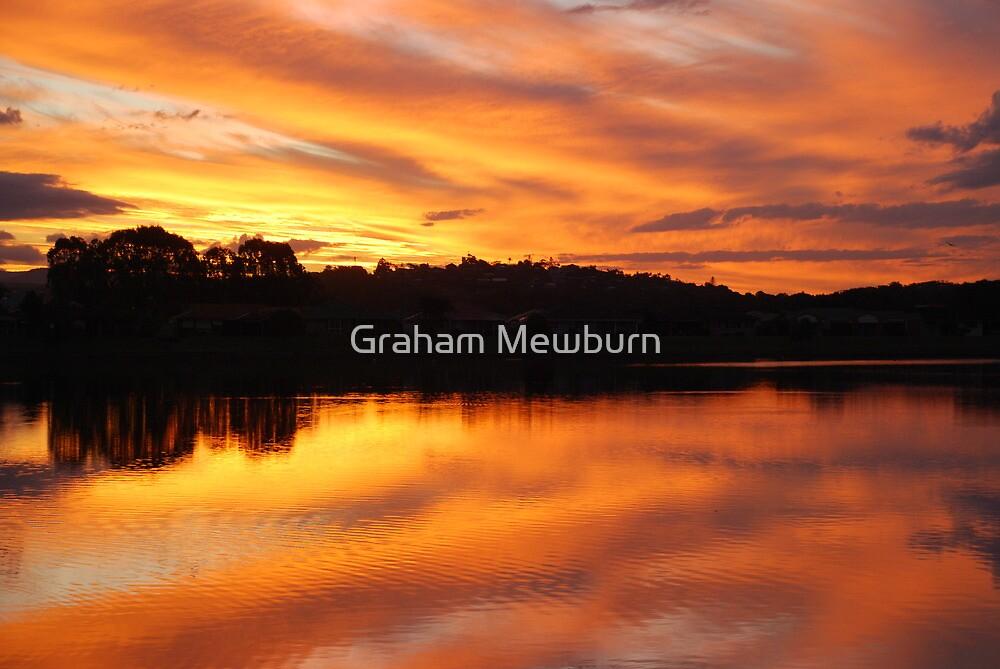 Ablaze by Graham Mewburn