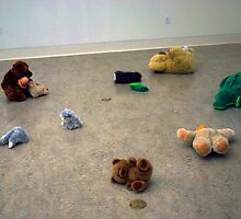 Untitled/Stuffed animal series by KidLiliefeldt