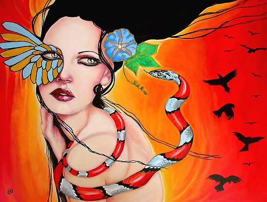 Quetzalcoatl by MoonSpiral