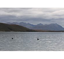 Lake Tekapo On A Cloudy Day Photographic Print