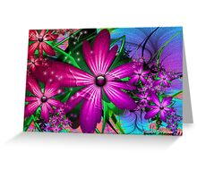 Easter Florals  Greeting Card