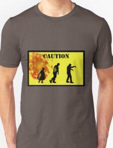 Caution! Unisex T-Shirt