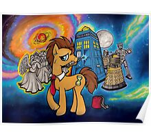 Doctor Whooves - Galaxy Poster