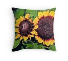 Floral Glory Throw Pillow