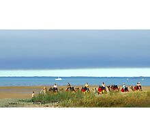 Hervey Bay Camel Caravan  Photographic Print