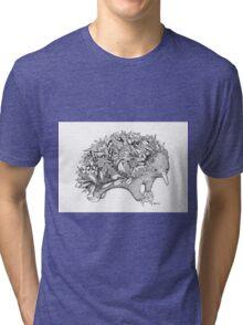Botanical Echidna Tri-blend T-Shirt