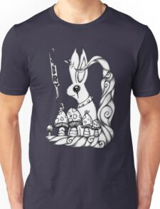 What hiddes in the woods Unisex T-Shirt