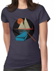 Mountain & Stars Womens Fitted T-Shirt
