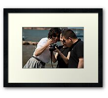 Is that really me? Framed Print