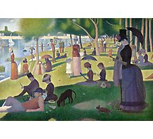 Mobile Seurat Photographic Print
