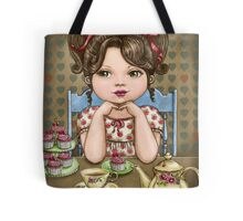 cupcakes and tea Tote Bag