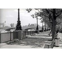 Queen's Walk - London Photographic Print
